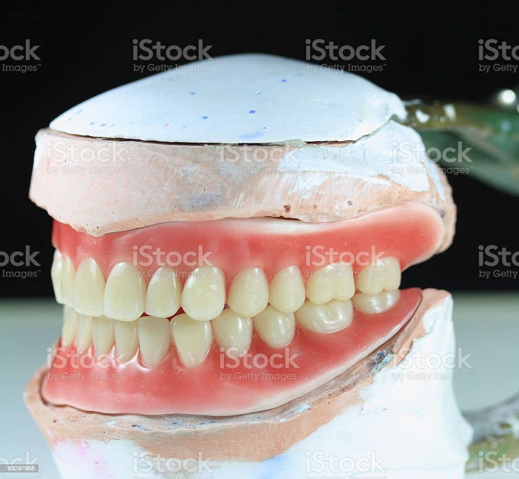 Denture for you stock photo