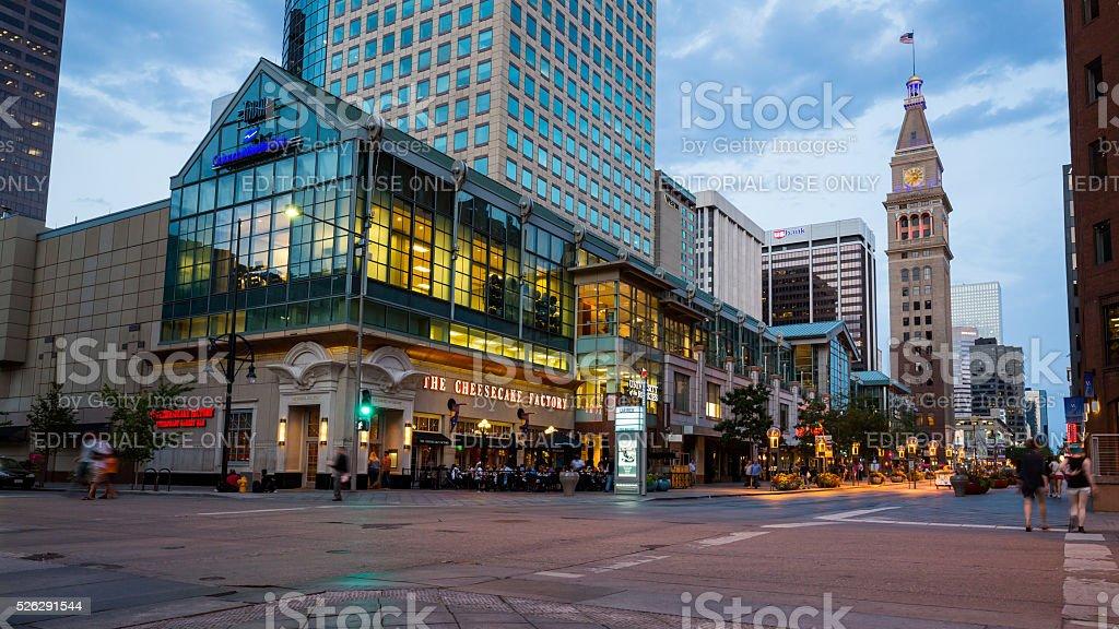 Denver, August 25, 2015 stock photo