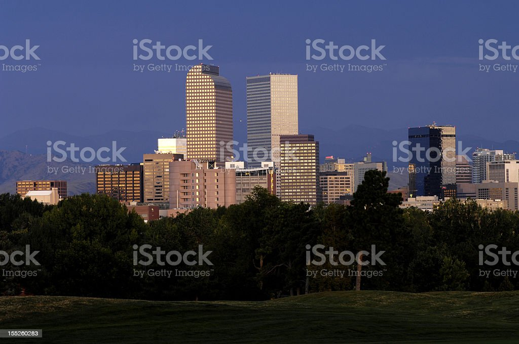 Denver Buildings royalty-free stock photo