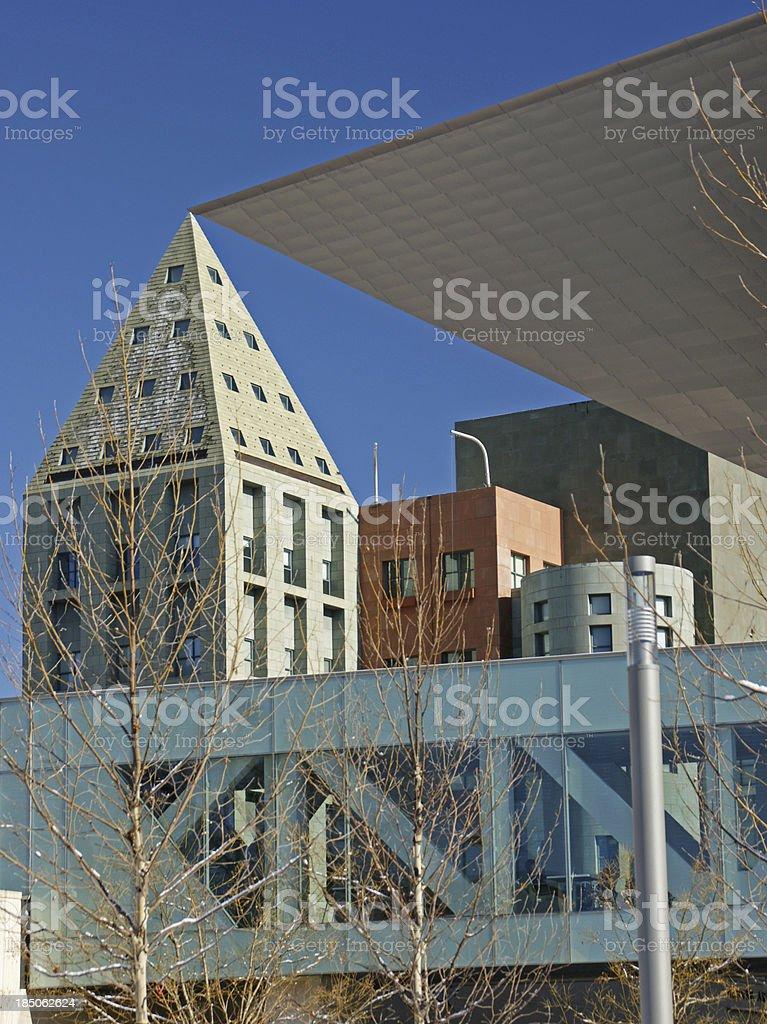Denver Buildings stock photo