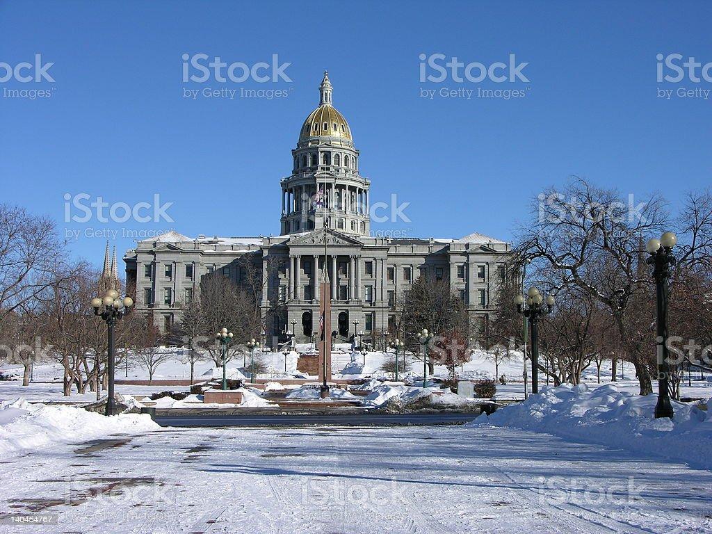 Denver Capital Building stock photo