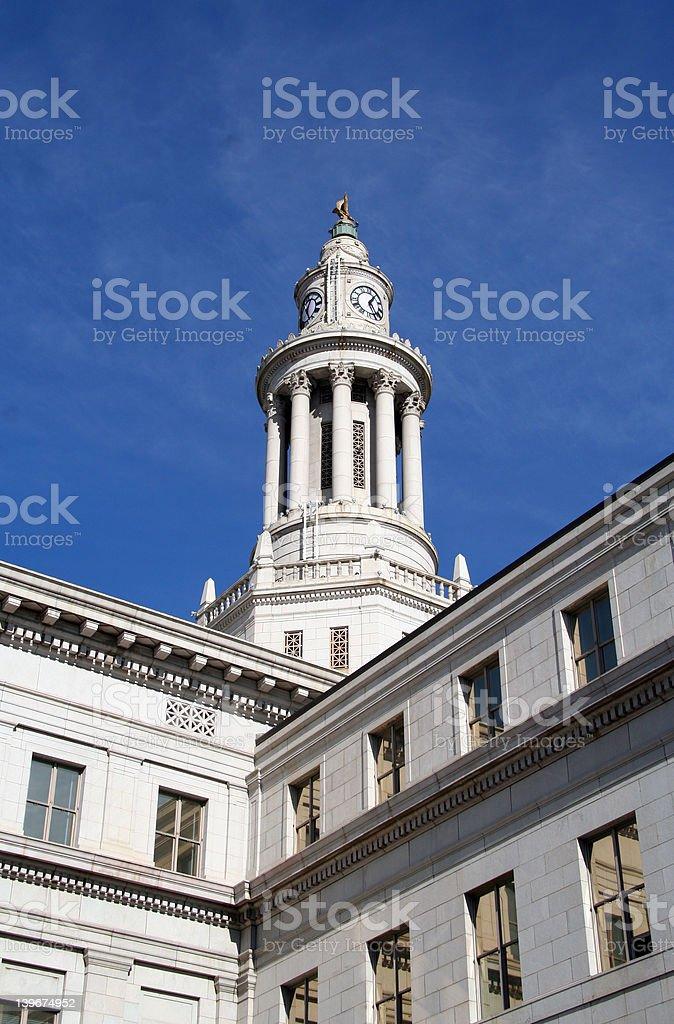Denver City and County Building - Denver, Colorado stock photo
