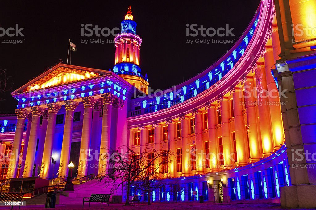 Denver City and County Building stock photo