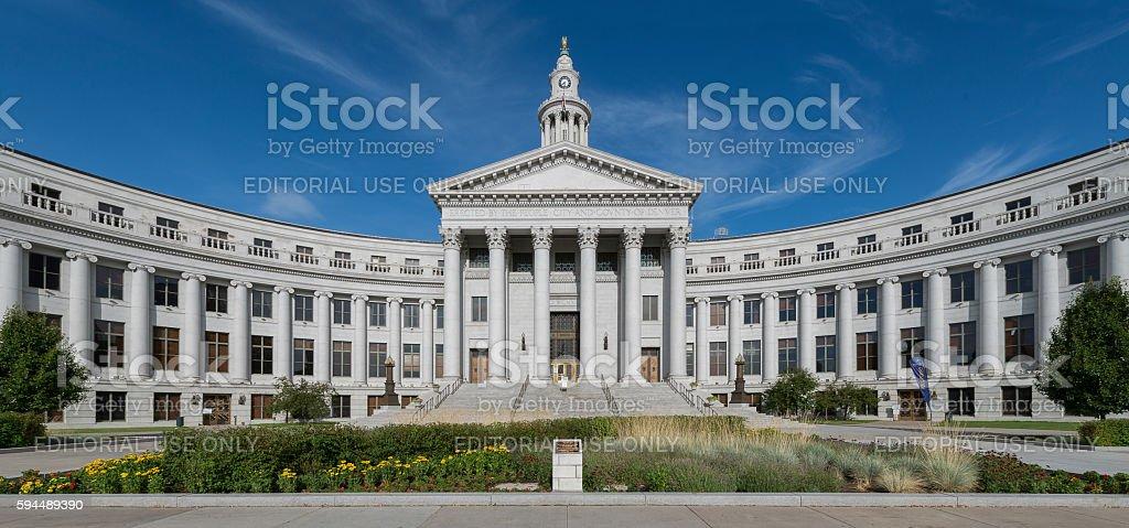 Denver City Hall stock photo