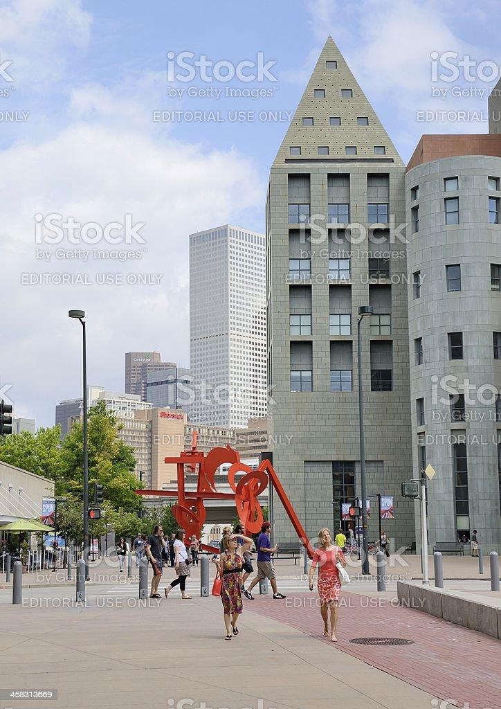 Denver Civic Center Cultural Complex stock photo