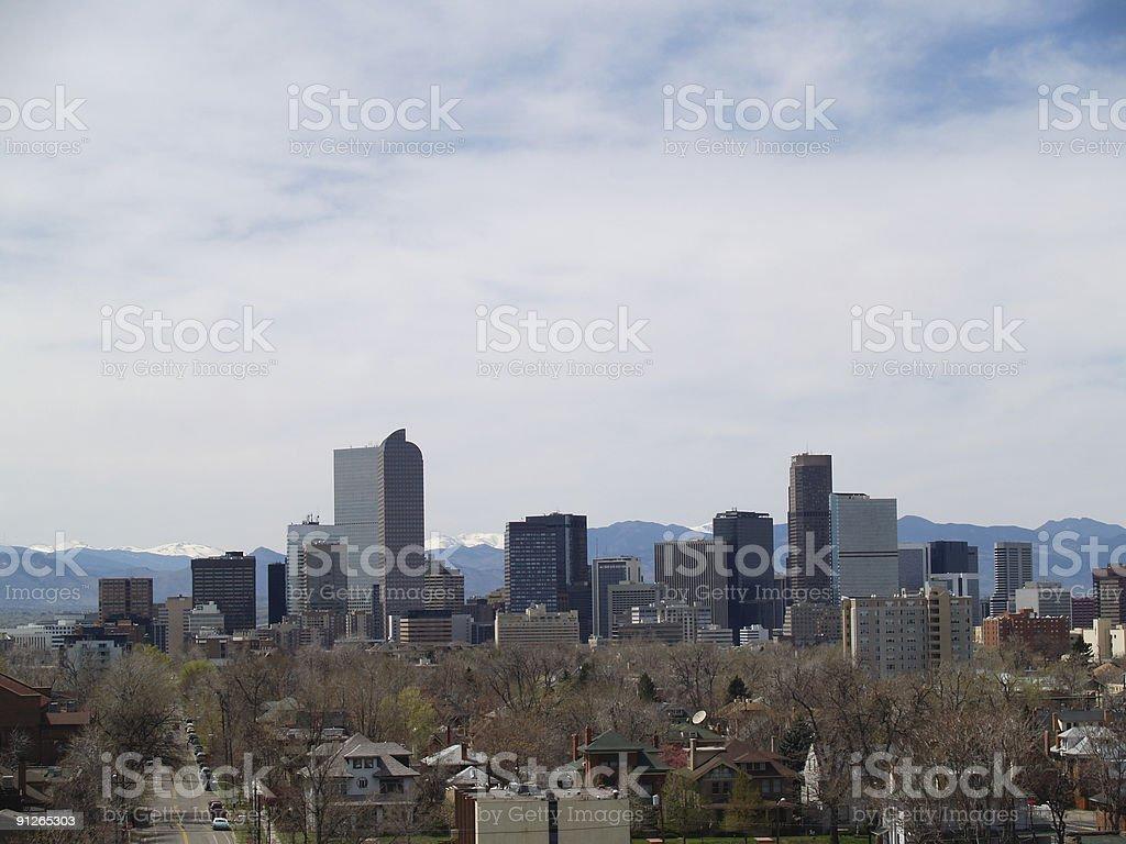 Denver, CO royalty-free stock photo