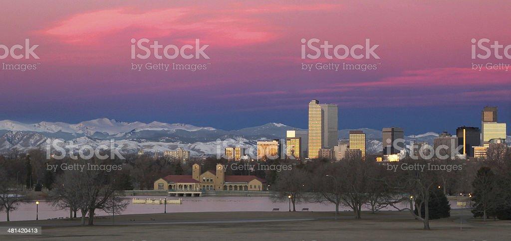 Denver, Colorado downtown Skyline stock photo