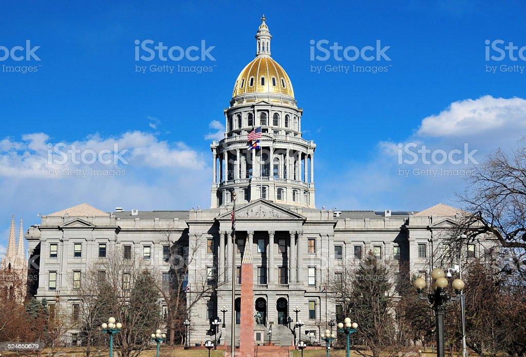 Denver, Colorado, USA: Colorado State Capitol stock photo