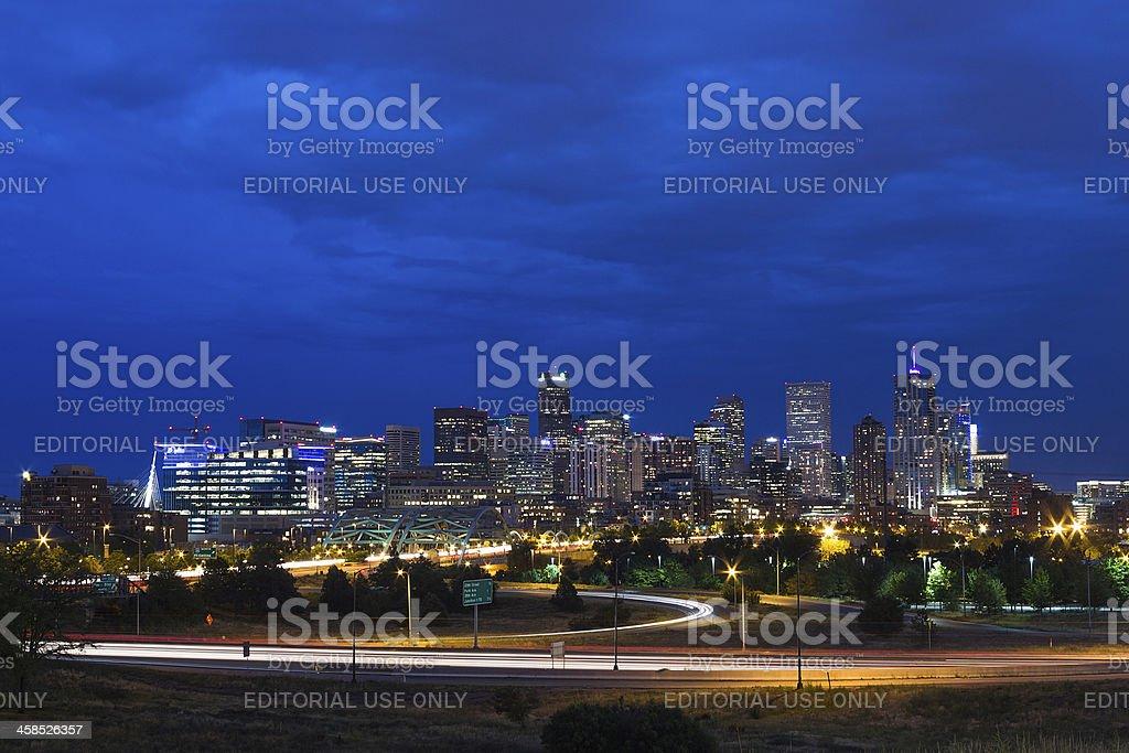 Denver, Colorado USA stock photo