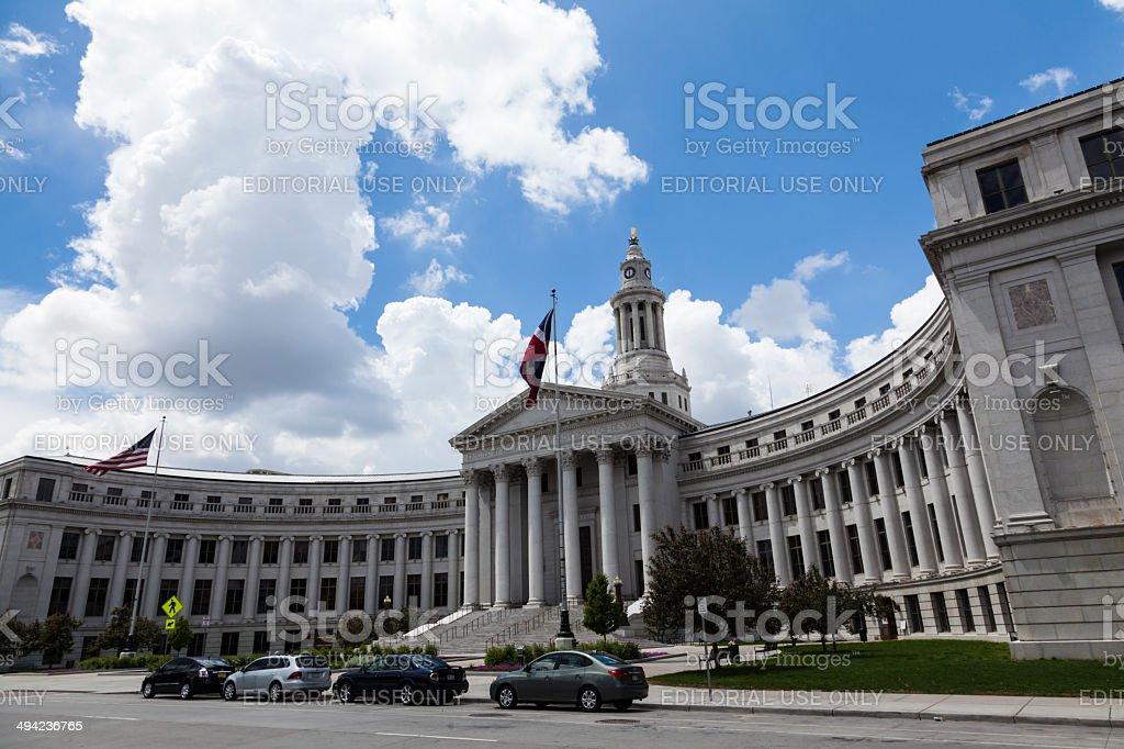 Denver County Court stock photo