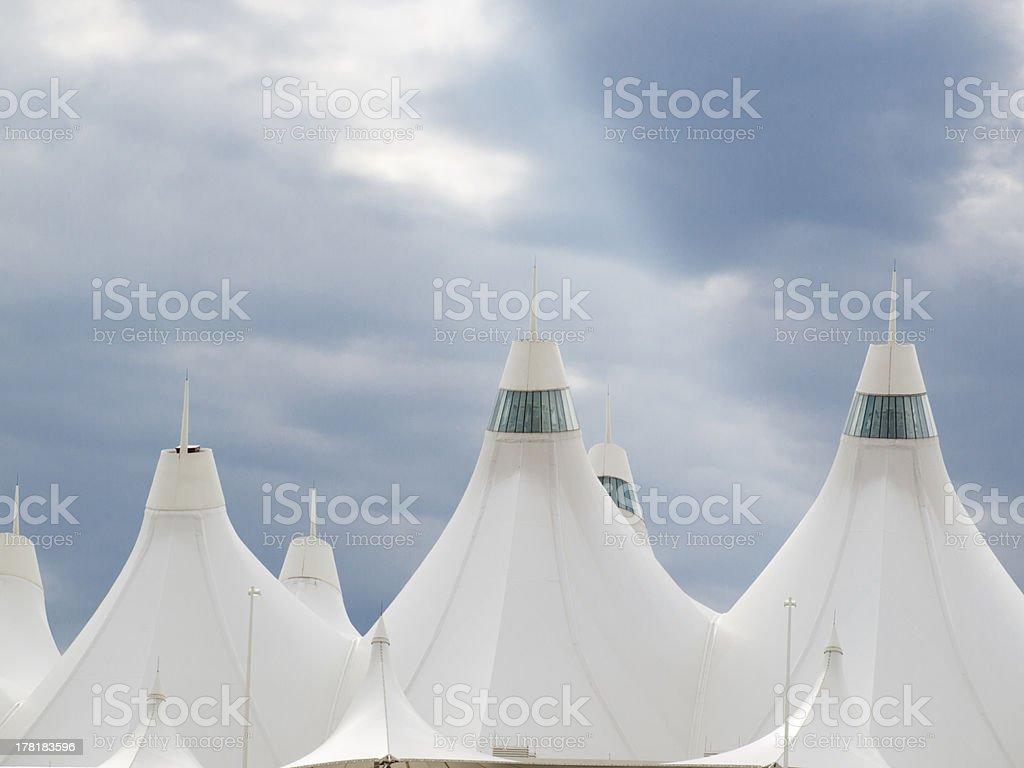 Denver International Airport royalty-free stock photo