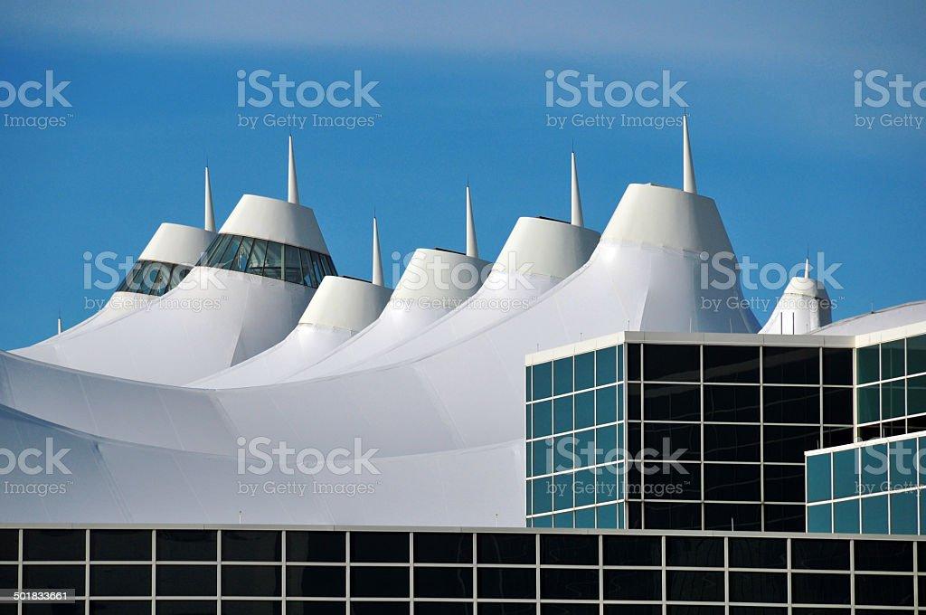 Denver International Airport (DIA) stock photo
