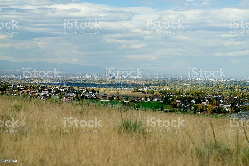 Denver Skyline royalty-free stock photo