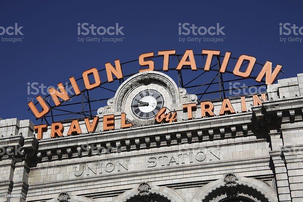 Denver - Union Station stock photo
