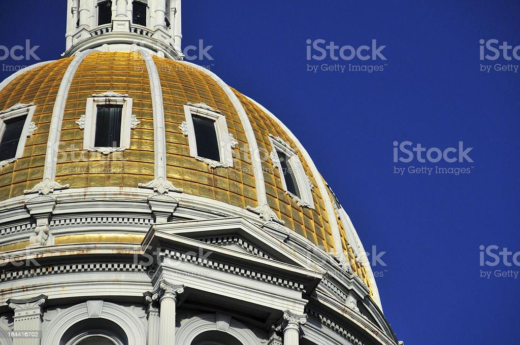 Denver, USA: Colorado State Capitol dome stock photo