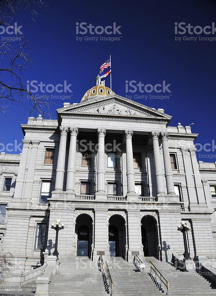 Denver, USA: Colorado State Capitol stock photo