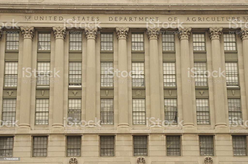 Department Of Agriculture royalty-free stock photo