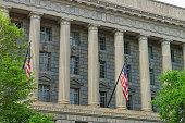 Department of Commerce in the Herbert C Hoover Building
