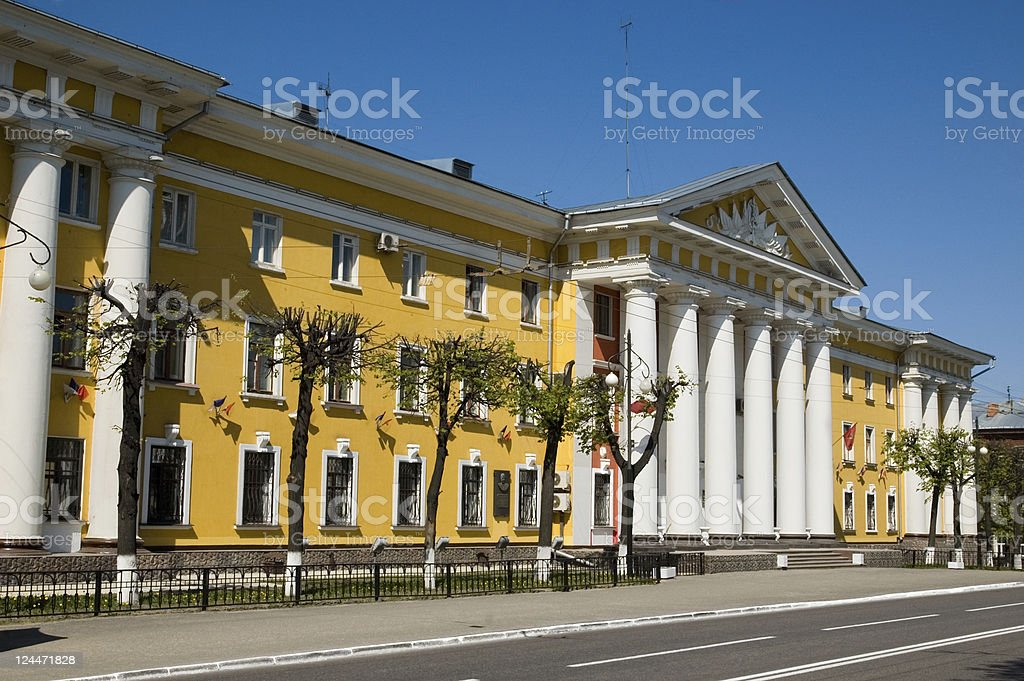 Department of Internal Affairs Vladimir Russia stock photo