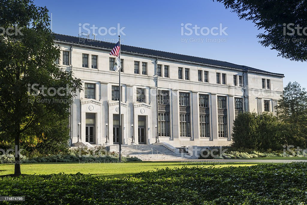 Department of the Interior stock photo