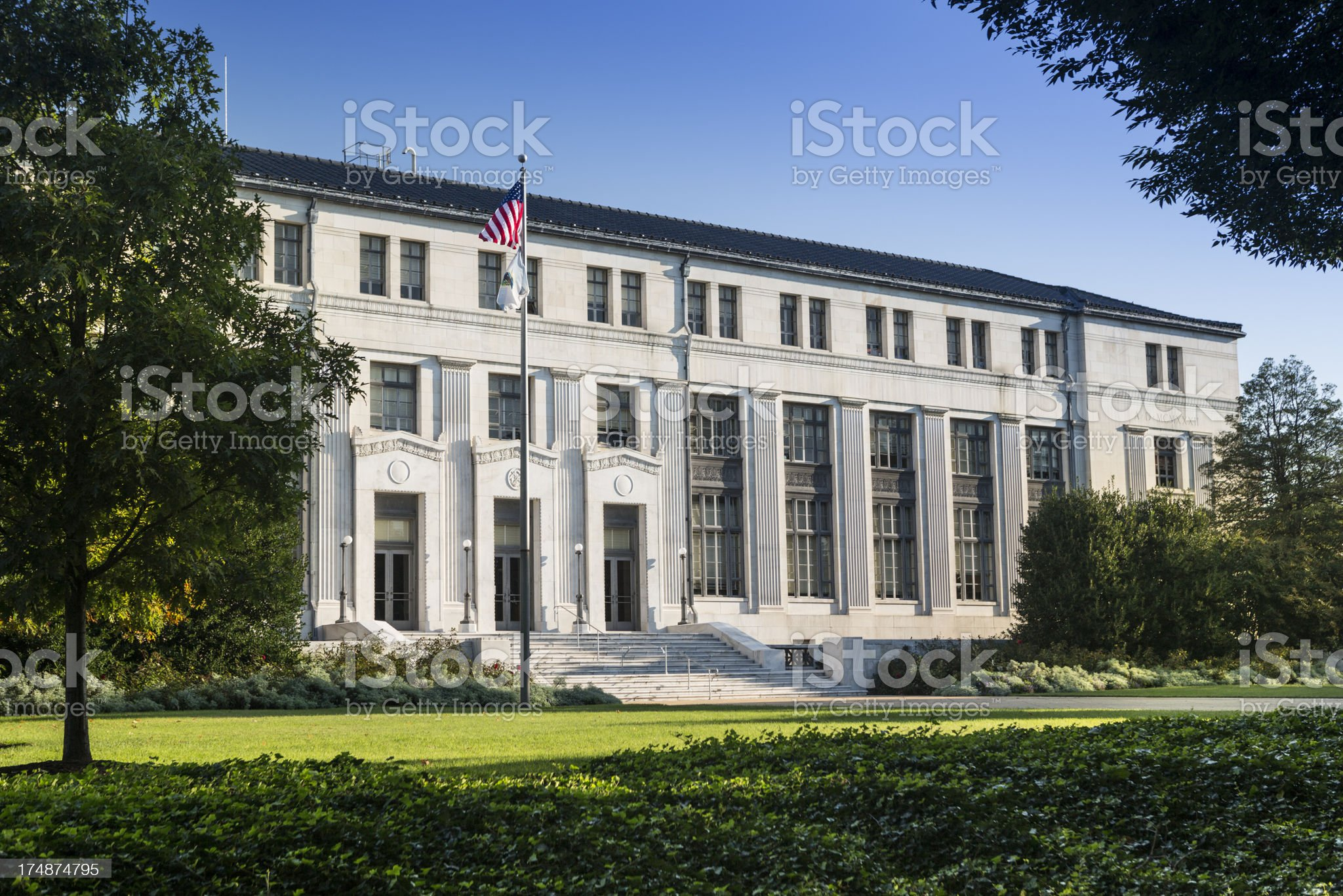 Department of the Interior royalty-free stock photo