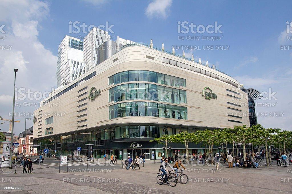 Department Store in Frankfurt, Germany stock photo
