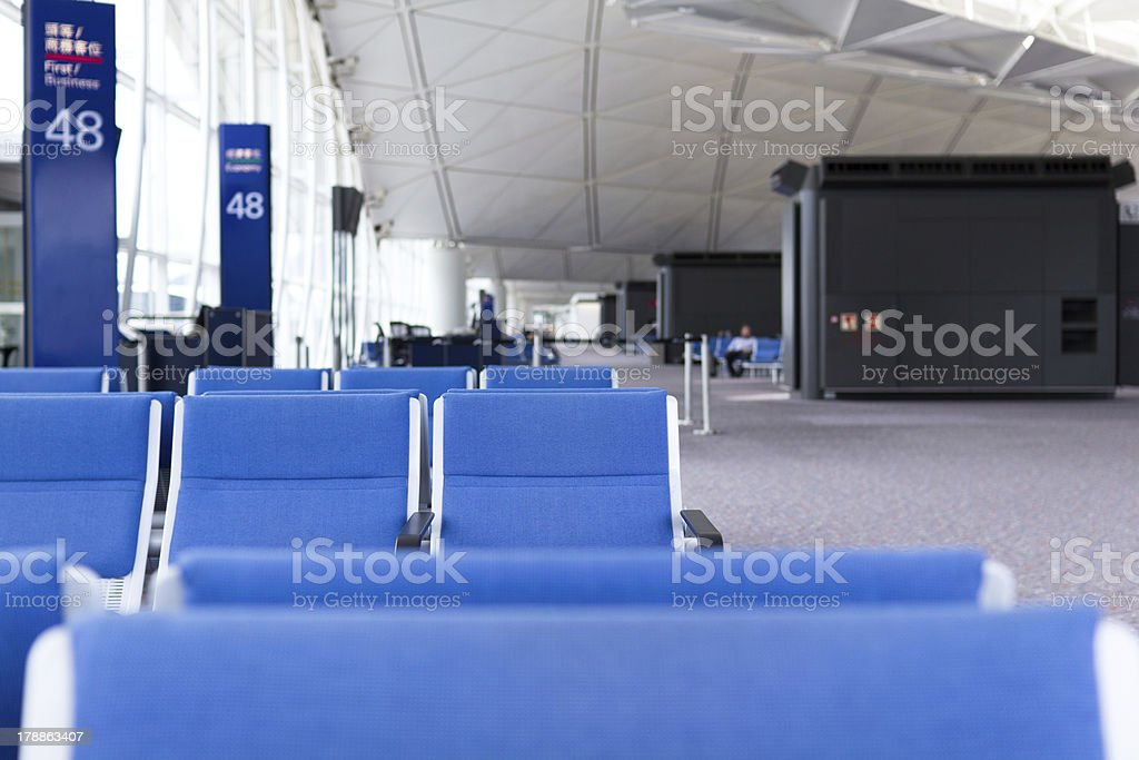 Departure Gate royalty-free stock photo