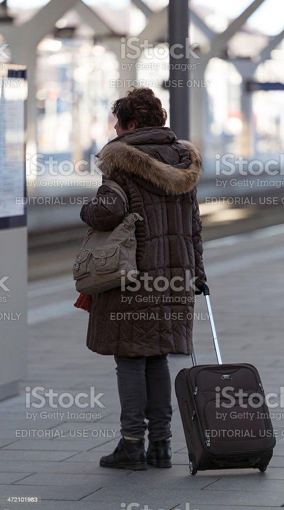 departure plan royalty-free stock photo