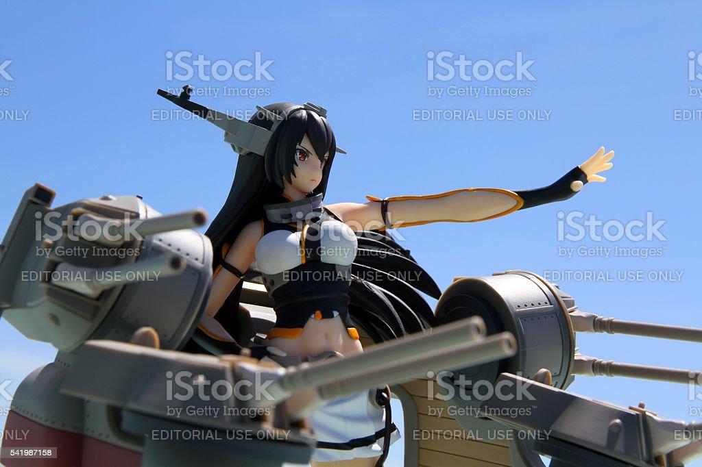 Deploying the Big Guns stock photo