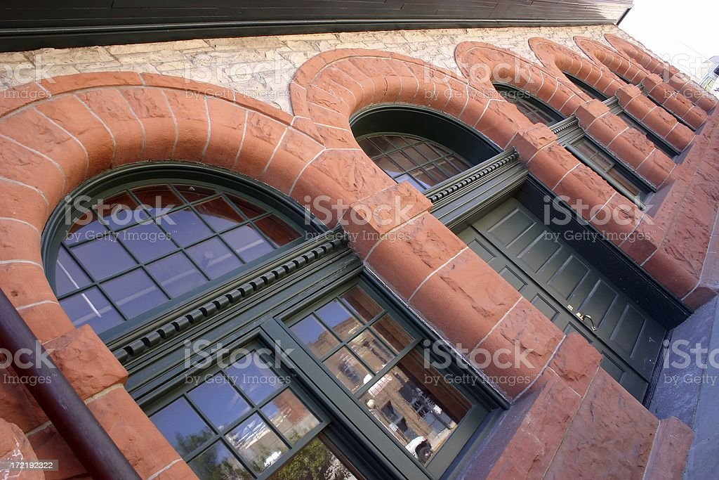 Depot Arches royalty-free stock photo