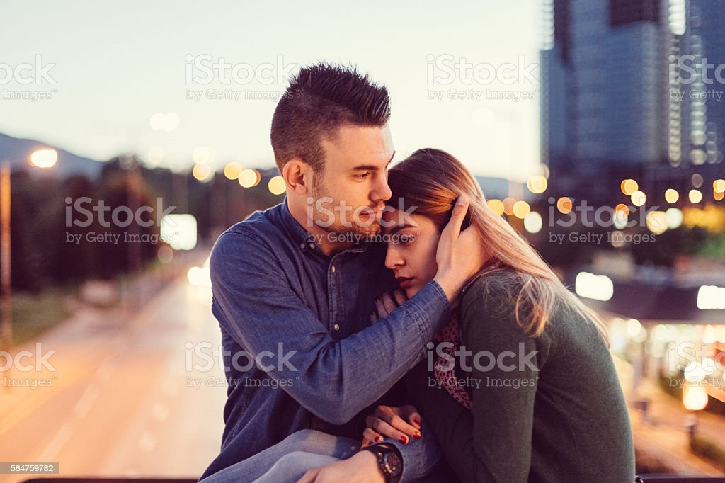 Depression in women stock photo