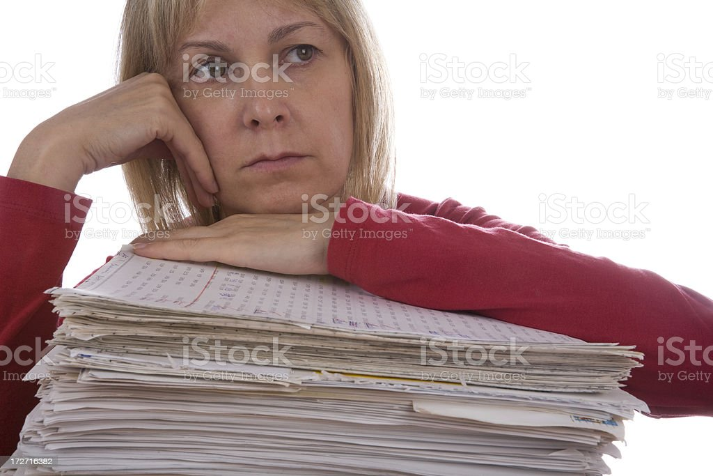 Depression royalty-free stock photo