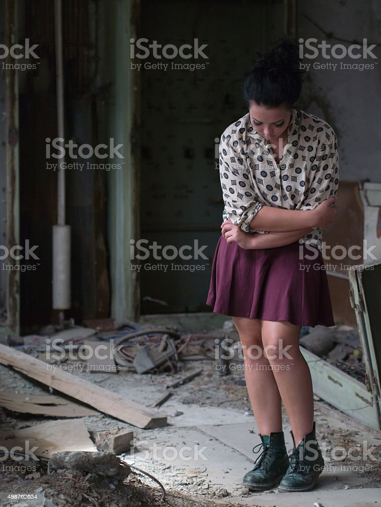 depression stock photo