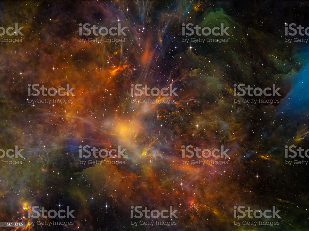 Depth of Space royalty-free stock photo