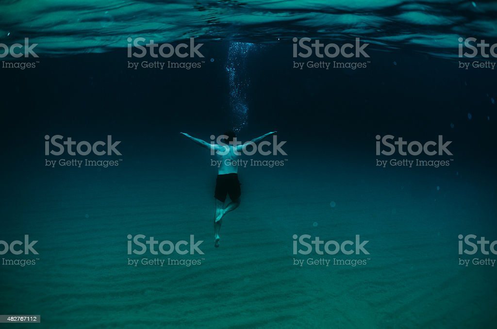 Depth stock photo