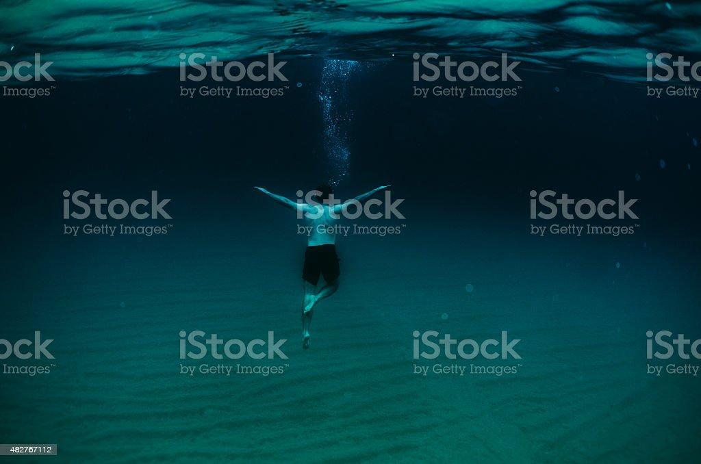 Depth stock photo