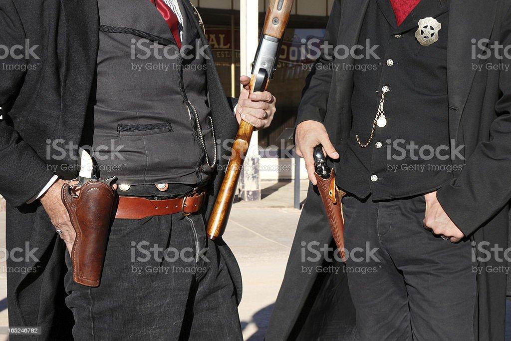 Deputies Marshal royalty-free stock photo