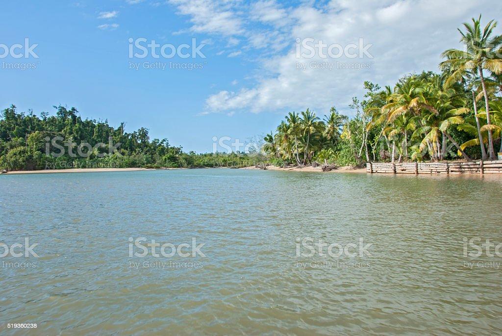 Der Fluss stock photo