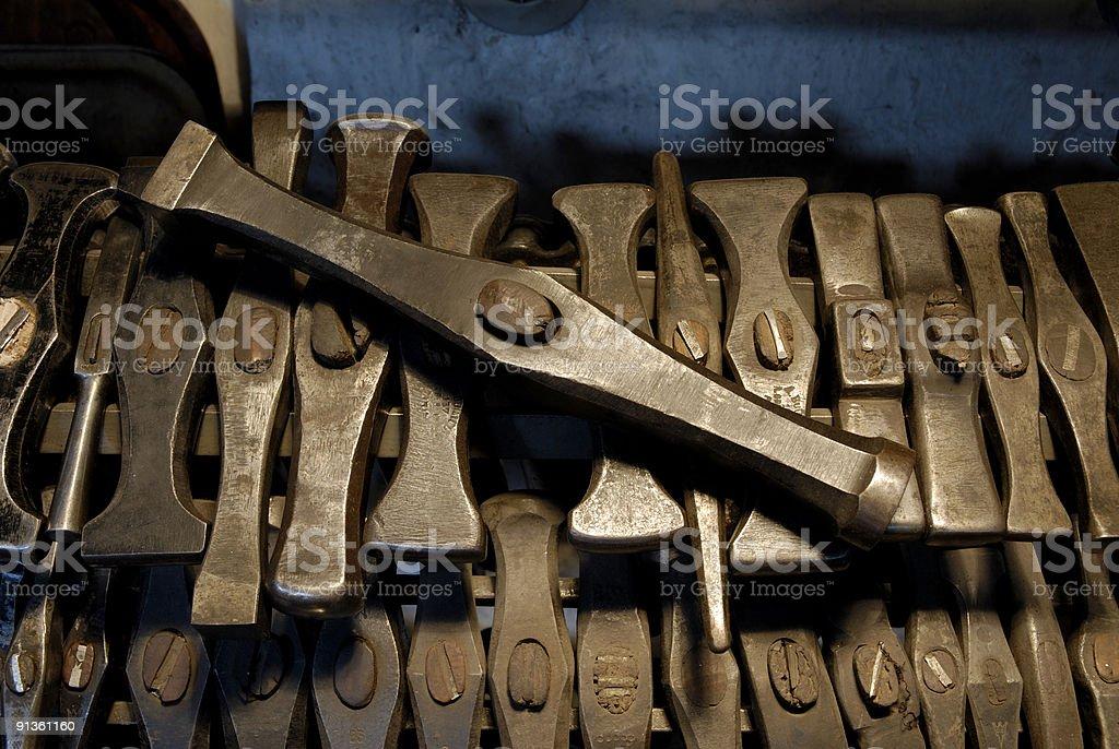 der hammer royalty-free stock photo