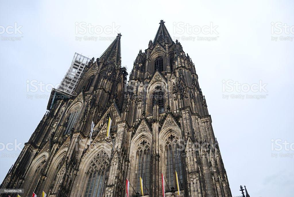 Der Kölner Dom stock photo