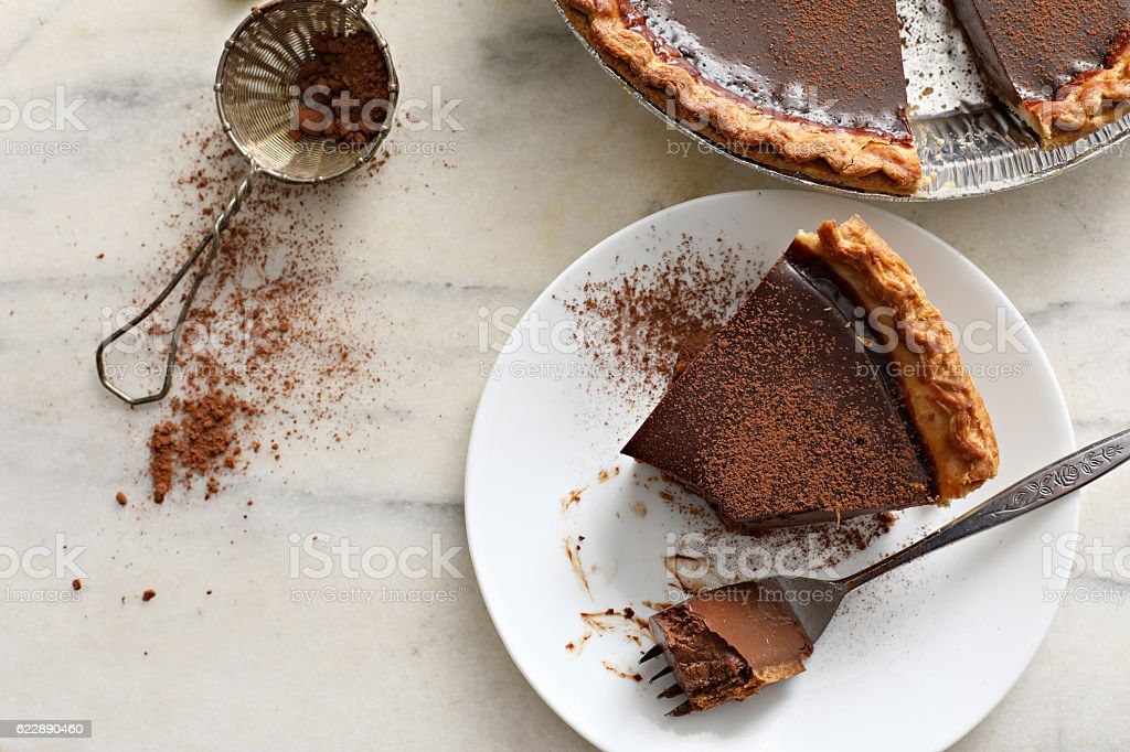 Derby Pie stock photo