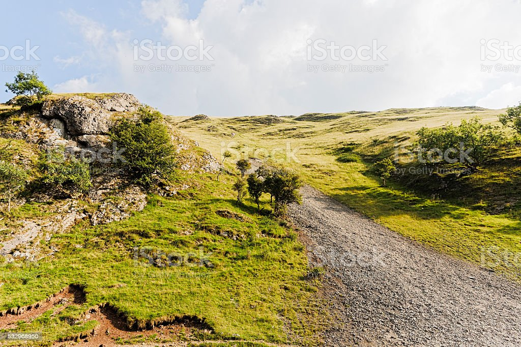 Derbyshire Dales stock photo