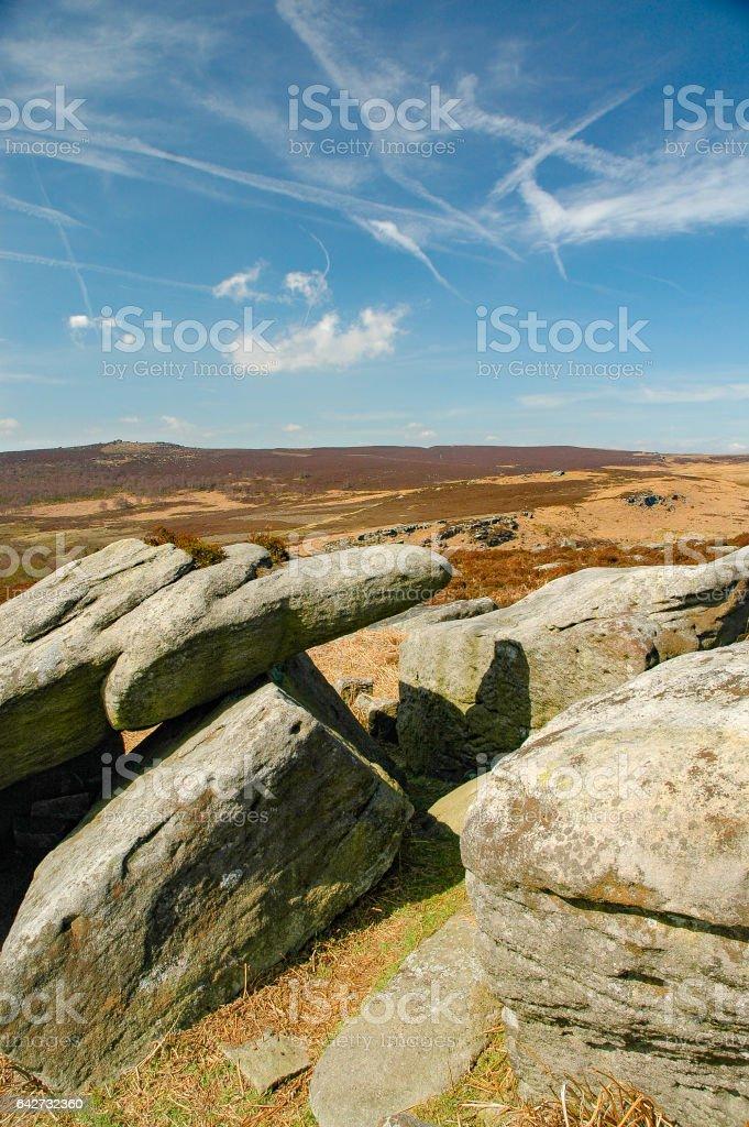Derbyshire Peak District, England stock photo