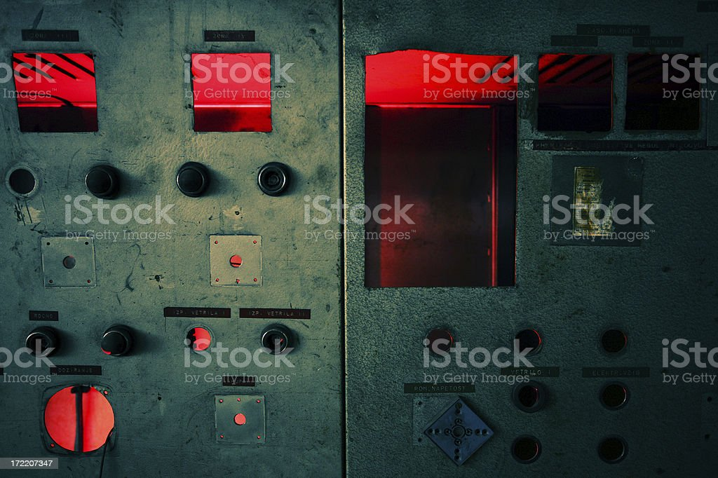 Derelict royalty-free stock photo