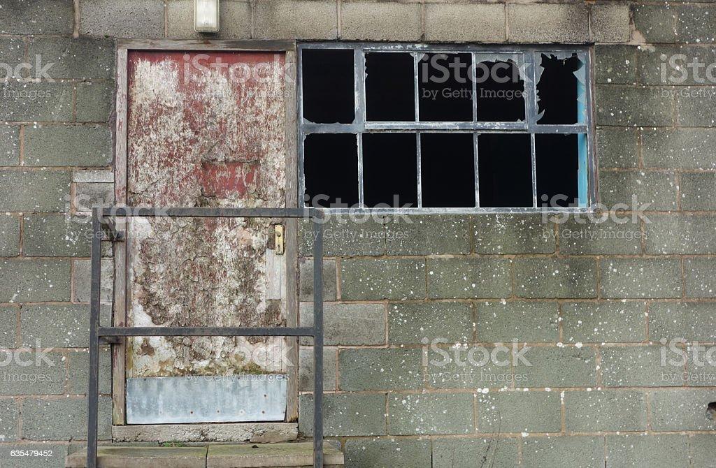 Derelict stock photo