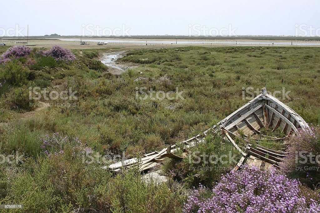 Derelict (Algarve, Portugal) royalty-free stock photo