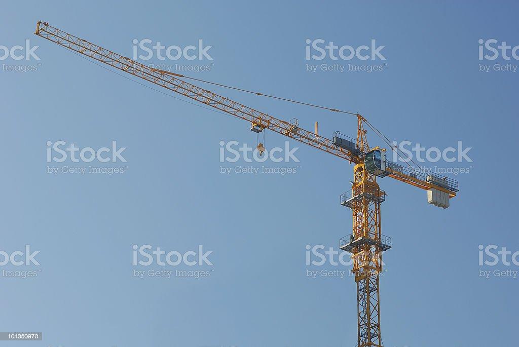 derrick crane royalty-free stock photo
