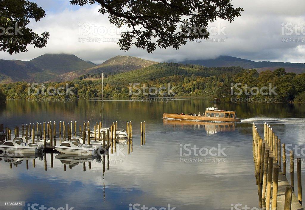 Derwent Water, English Lake District stock photo