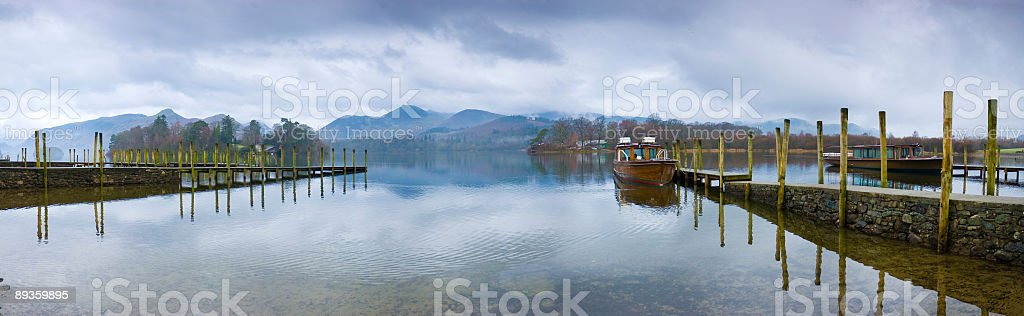 Derwent Water, Lake District, UK stock photo