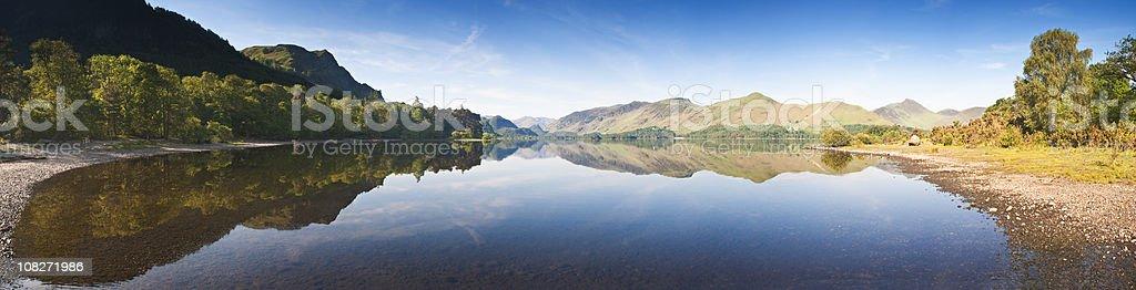Derwent Water. stock photo